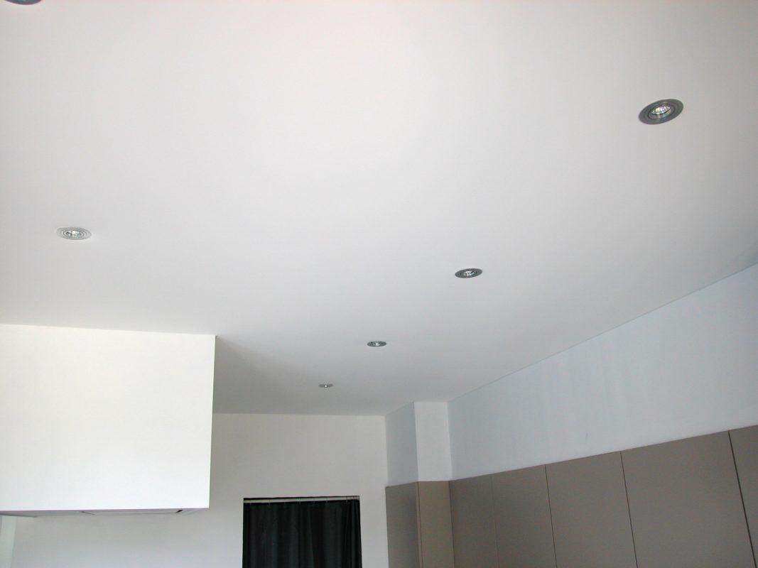 Spanplafond woonkamer