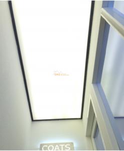 lichtdoorlatend spanplafond